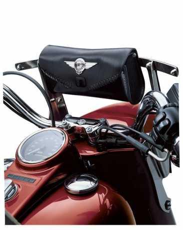 Harley-Davidson Fat Boy Windshield Bag with Die-Cast Concho  - 56626-99