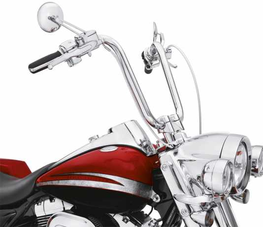 """Harley-Davidson Fat Ape 16"""" Handlebar Kit with Riser chrome  - 56942-10B"""