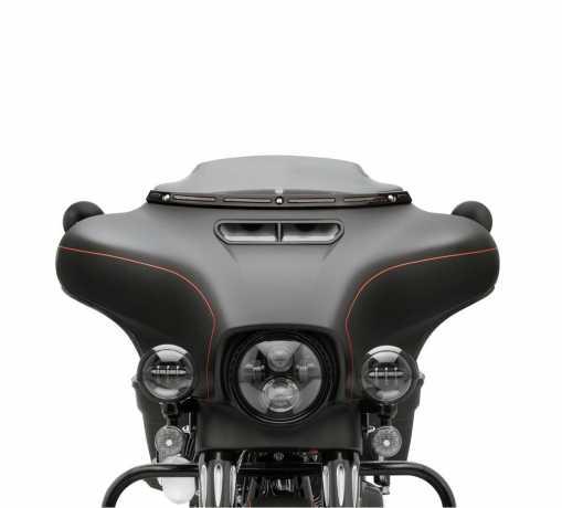Harley-Davidson Beleuchtete Windschutzscheibenverkleidung schwarz  - 57000395A