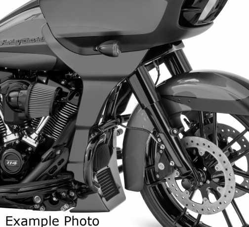 Harley-Davidson Fairing Chin Spoiler Kit, painted  - 57001042V