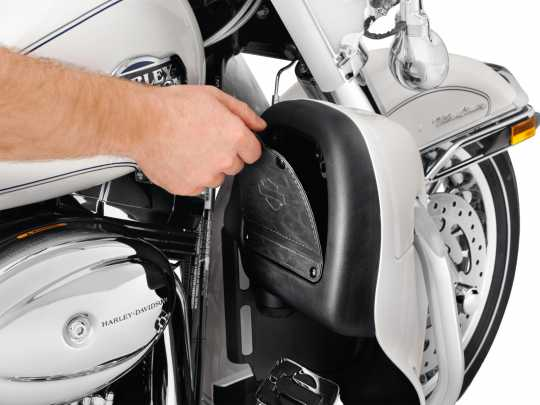 Harley-Davidson Beinschild-Magnetklappe  - 57100198
