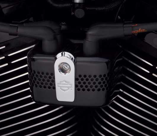 Harley-Davidson Zündspulen Cover schwarz  - 57300213