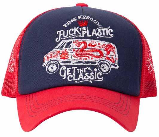 King Kerosin King Kerosin F*ck The Plastic cap red/blue  - 573020