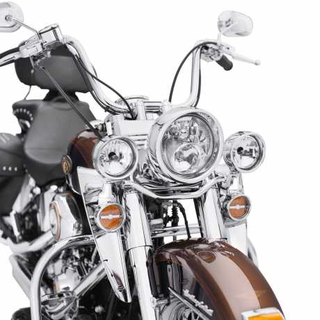 Harley-Davidson Gabel Winddeflektor chrom  - 57400143