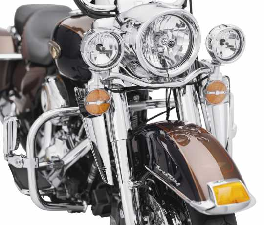 Harley-Davidson Fork mount Wind Deflectors Chrome  - 57400146A