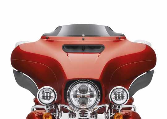 "Harley-Davidson Wind Splitter Windschutzscheibe 4.5"" dunkel getönt  - 57400204"