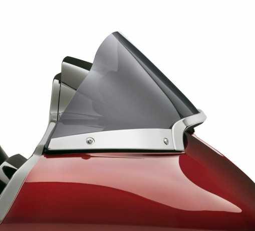 Harley-Davidson Billet Windshield Side Trim chrome  - 57400255
