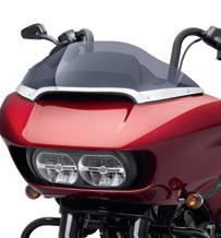 Harley-Davidson Billet Windschildverkleidung Mittelverzierung chrom  - 57400295