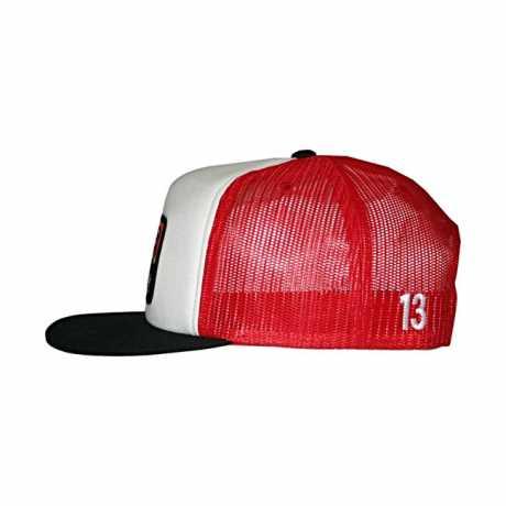 Lucky 13 Lucky 13 The Brick Snapback Trucker Cap Poplin Mesh  - 574253