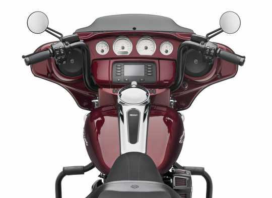 "Harley-Davidson Bat Wing mini-Ape Handlebars 12"" Satin Black  - 57485-11"
