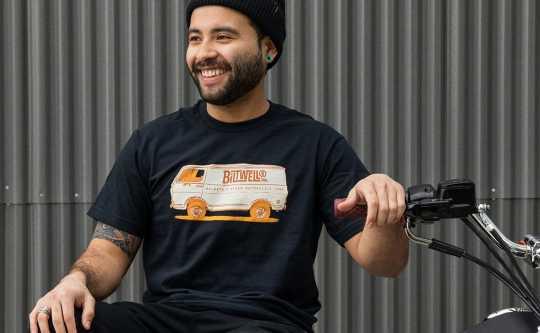 Biltwell Biltwell Van Diego T-Shirt Black  - 576071V