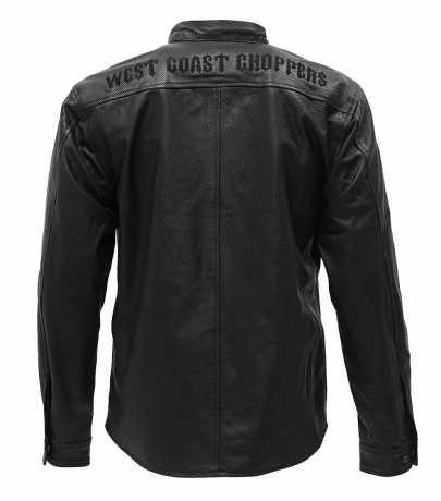 West Coast Choppers West Coast Choppers Og Perforated Leather Riding Shirt black  - 577631V