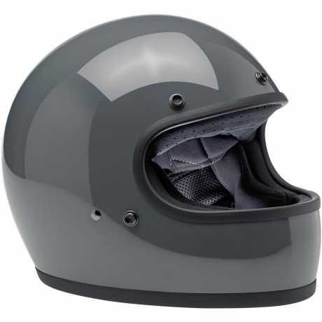 Biltwell Biltwell Gringo Helmet ECE Gloss Storm Grey  - 578127V