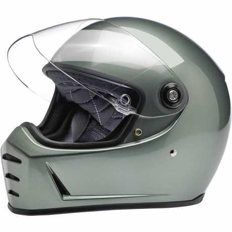 Biltwell Biltwell Lane Splitter Helm ECE Metallic Olive  - 578223V