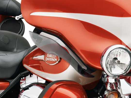 Harley-Davidson Adjustable Air Deflectors Dark Smoke  - 58156-08A