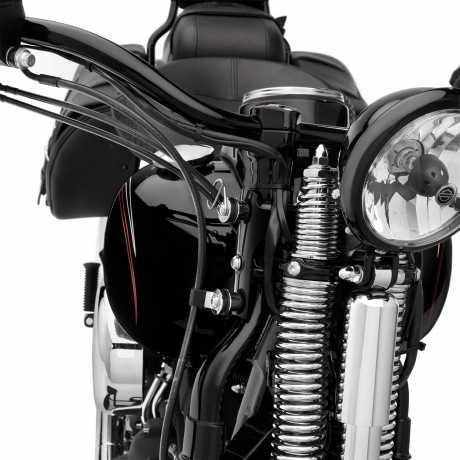 Harley-Davidson Docking Hardware for Detachable Windshields Black  - 58165-09