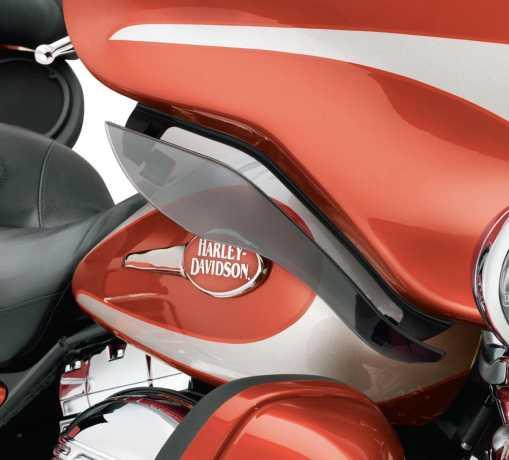 Harley-Davidson Adjustable Air Deflectors Light Smoke  - 58166-08A