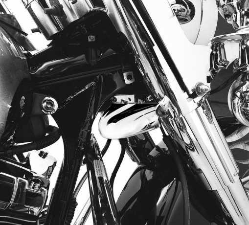 Harley-Davidson Luftleitblech für Teleskopgabelchrom  - 58520-79TC
