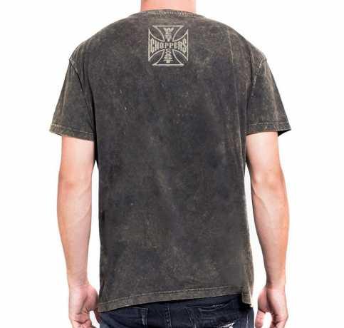 West Coast Choppers West Coast Choppers Hells Guardians Vintage T-Shirt Marlite Oro M - 588556
