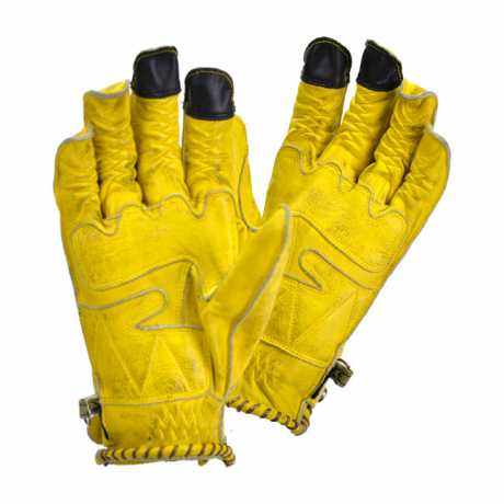 By City By City Second Skin Gloves yellow  - 590621V