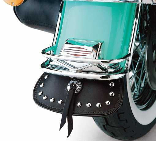 Harley-Davidson Heritage Classic Rear Fender Leather Mud Flap  - 59071-98