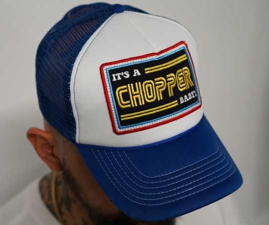 13 1/2 Magazine 13 1/2 Trucker Cap It´s a Chopper Baby, blau  - 590710