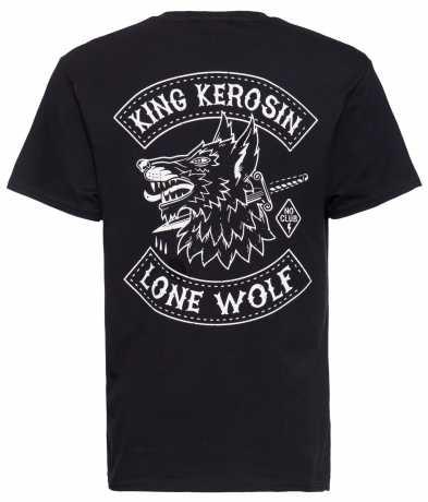 King Kerosin King Kerosin T-Shirt Lone Wolf black  - 592275V