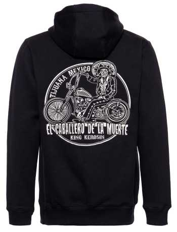 King Kerosin King Kerosin Mexican Rider Zip Hoodie Black  - 592325V