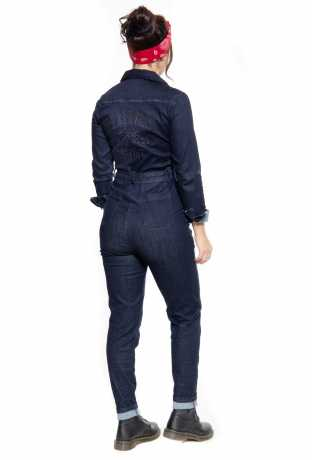 King Kerosin Queen Kerosin Speedway Workwear Overall dunkelblau  - 592572V