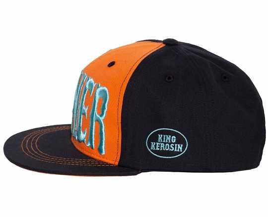 King Kerosin King Kerosin Sinner 3D Cap orange/schwarz  - 592597