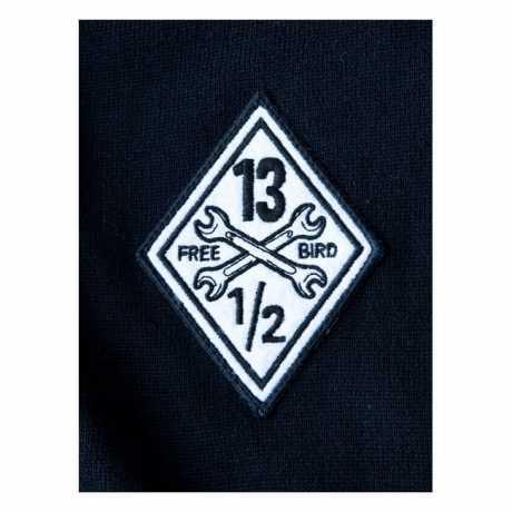 13 1/2 Magazine 13 1/2 Outlaw Free Bird Sweatshirt weiß/schwarz  - 593582V