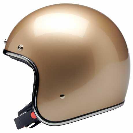 Biltwell Biltwell Bonanza Jet Helm Metallic Champagne DOT  - 599366V