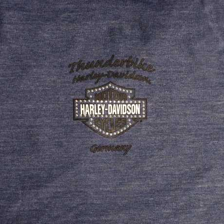 H-D Motorclothes Harley-Davidson Damen T-Shirt Slide On Over  - 5AD6-HHF4