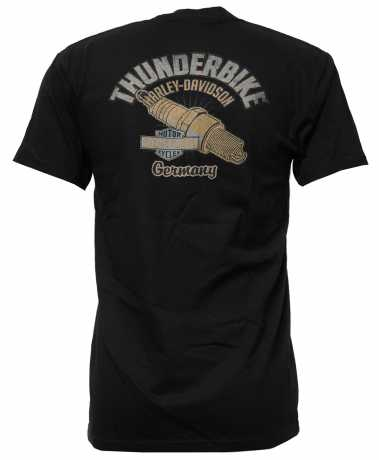 H-D Motorclothes Harley-Davidson T-Shirt Run the Gears black  - 5AM2-HHV7