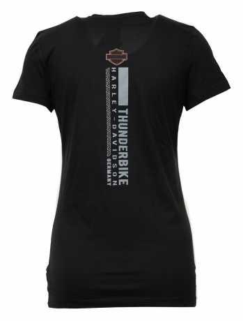 H-D Motorclothes Harley-Davidson Damen T-Shirt Quality Time schwarz  - 5AQ6-HHSS