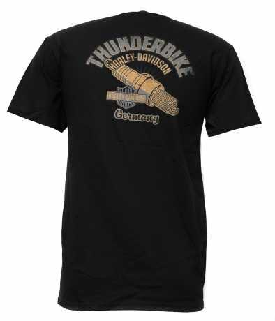 H-D Motorclothes Harley-Davidson T-Shirt Banner Style schwarz  - 5K18-HHUF