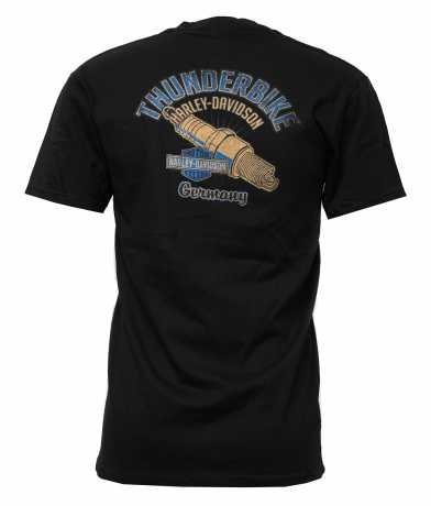 H-D Motorclothes Harley-Davidson T-Shirt Powering Through black  - 5L33-HHTL