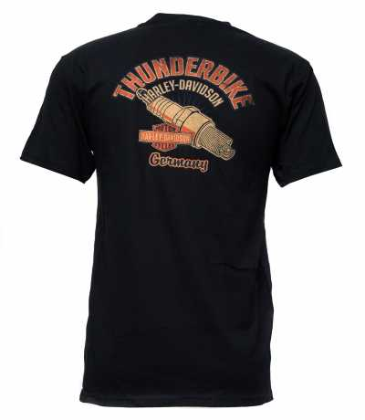 H-D Motorclothes Harley-Davidson T-Shirt Old Fashioned Steel black  - 5L33-HHU5