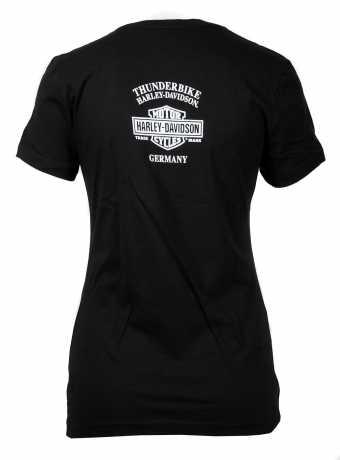 H-D Motorclothes Harley-Davidson women´s T-Shirt Chromed Gears  - 5M17-HHWF