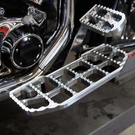 Joker Machine Joker FL Serrated Brake Pedal Cover Raw  - 60-7876