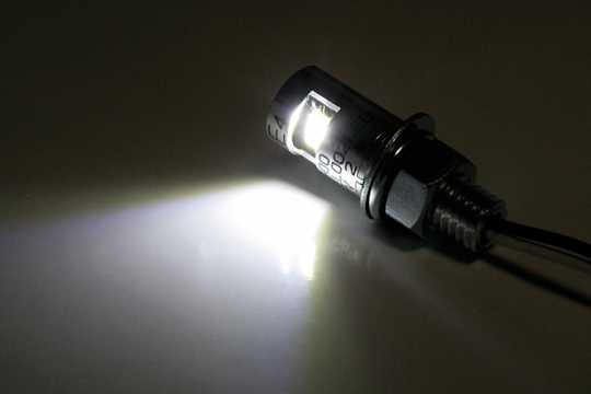 Shin Yo Shin Yo LED Nummerschildbeleuchtung rund, chrom M8  - 60-7053
