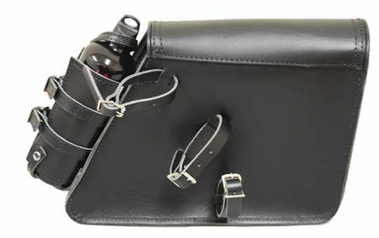 LaRosa La Rosa Solo Side Bag plain, black with Fuel Bottle Holder  - 60-7497