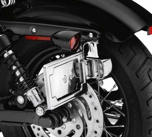 Harley-Davidson Side-Mount License Plate Kit chrome  - 60947-10