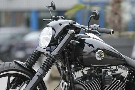 Thunderbike Upper Fork Cover black  - 61-72-170