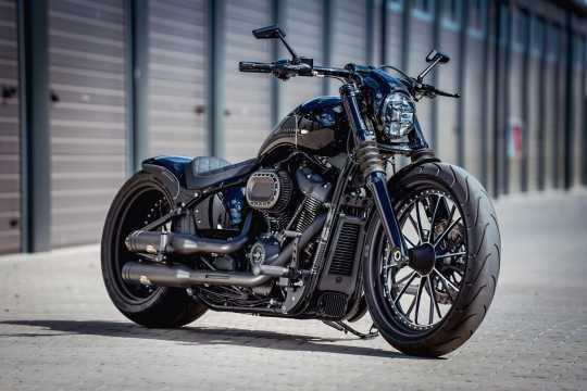Thunderbike Upper Fork Cover black  - 61-74-100