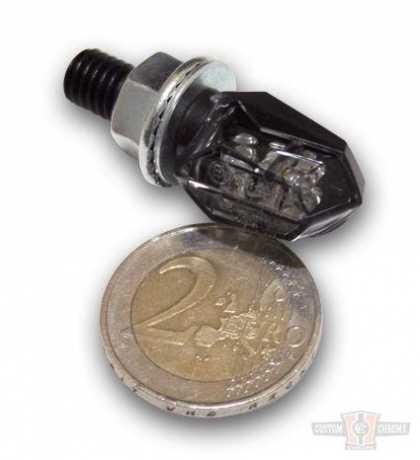 Shin Yo Shin Yo LED Turn Signal Tiny, rear black smoke  - 61-9244