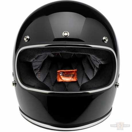 Biltwell Biltwell Gringo Helmet DOT gloss black  - 61-9922V