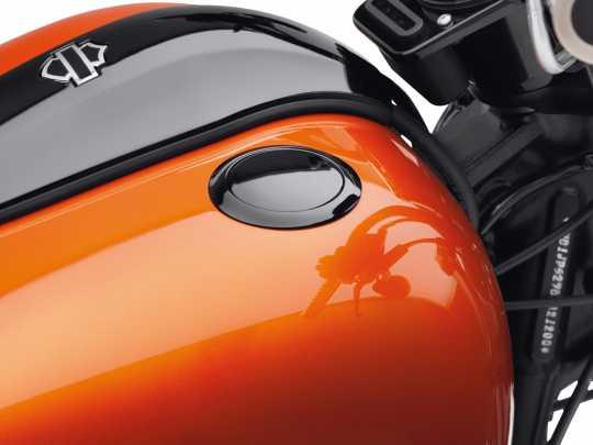 Harley-Davidson Bündiger Tankdeckel schwarz  - 61100007B