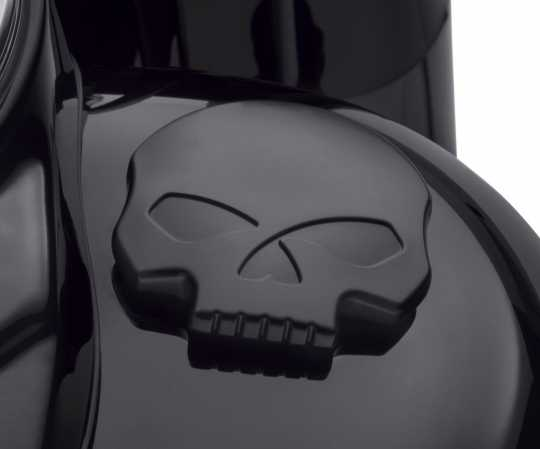Harley-Davidson Fuel Cap Willie G Skull black  - 61100103