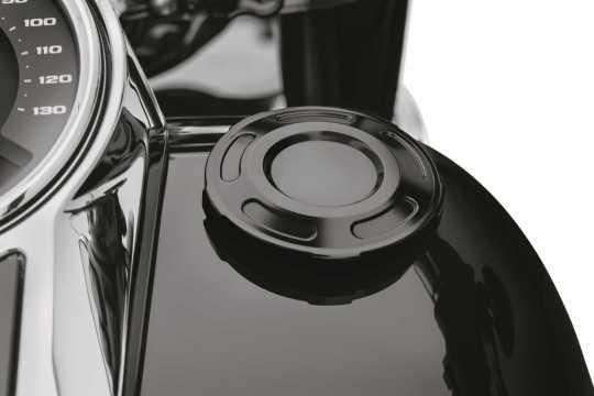 Harley-Davidson Dominion Fuel Cap gloss black  - 61100107A